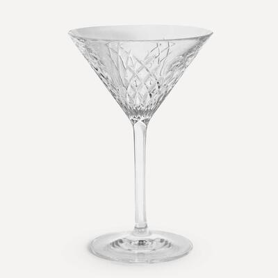 Barwell Cut Crystal Martini Glass - Soho Home