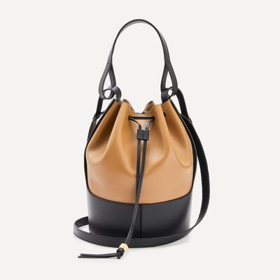 Balloon Leather Bucket Bag Loewe
