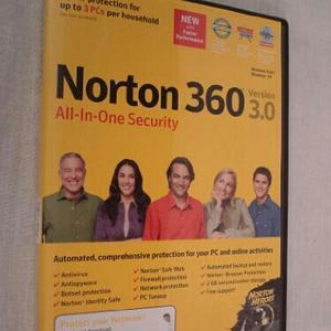 Norton 360 All-In-One Security Version 3.0 (Windows Vista and XP) PC