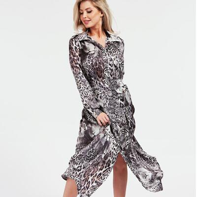 MARCIANO SATIN DRESS Guess