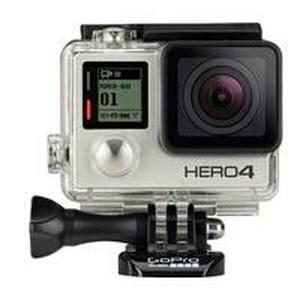 GoPro Hero4 Silver Edition Camcorder HD 1080p 12MP Bluetooth Wi Fi Waterproof Touch Screen