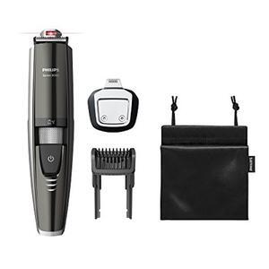 Philips Series 9000 Laser Guided Beard and Stubble Trimmer for Precise Symmetrical Beards -BT9297/13
