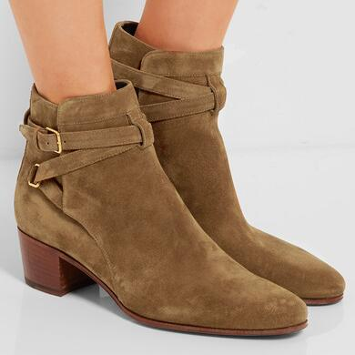 Saint Laurent Blake suede ankle boots