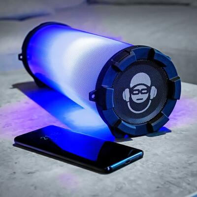 iDance Cyclone 301 Bluetooth Speaker with LED Lights