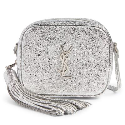 Saint Laurent Monogram Blogger Calfskin Crossbody Bag