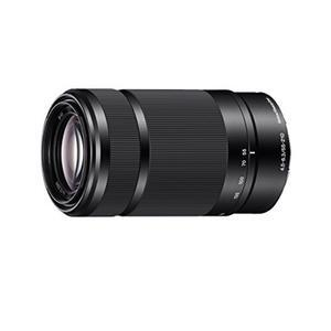 Sony SEL55210 E Mount APS-C 55-210 mm F4.5-6.3 Telephoto Zoom Lens - Black