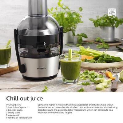 Philips HR1875/21 Avance Collection Quick Clean Juicer, 2.5 L