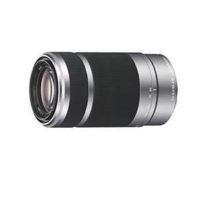 Sony SEL55210 E Mount APS-C 55-210 mm F4.5-6.3 Telephoto Zoom Lens - Silver