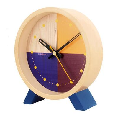 Cloudnola Flor Desk Clock - Blue
