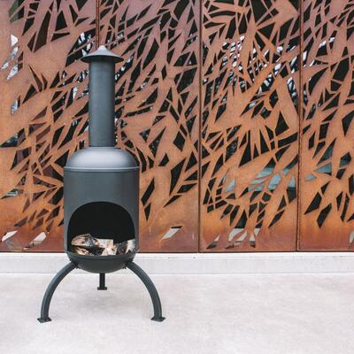 Sarsden Steel Log Burner Graham & Green