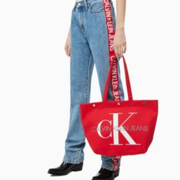 Medium Canvas Tote Bag Calvin Klein® K60K605310631