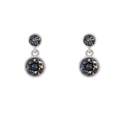 Crystal Dot Drop Earrings Karen Millen