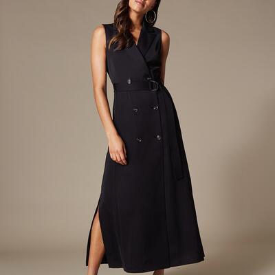 Maxi Tuxedo Dress Karen Millen