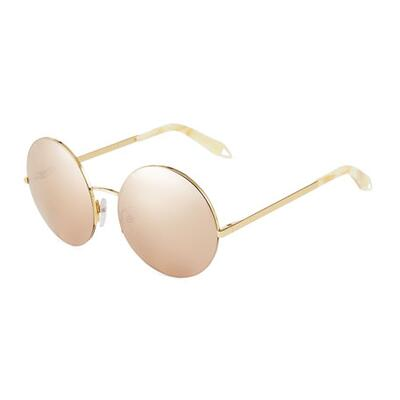 Victoria Beckham Round Metal Sunglasses