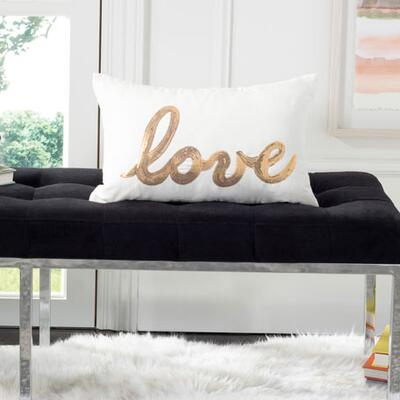 Safavieh First Comes Love Pillow