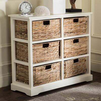 Safavieh Keenan 6-Basket Storage Shelf