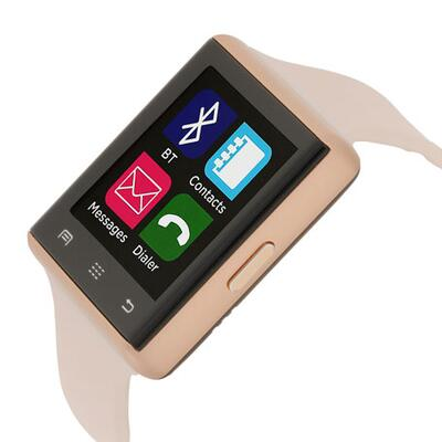 iTOUCH Air 2 Smartwatch w/ Touch Screen, Rose/Blush