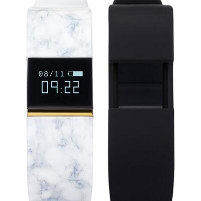 iTOUCH Activity Tracker w/ Interchangeable Straps, Marble/Black