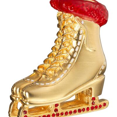 Estee Lauder Pleasures Ice Skate Perfume Compact
