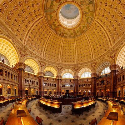 The Library of Congress - Washington DC