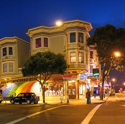 Haight-Ashbury -San Fransisco - California