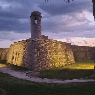 Castillo de San Marcos (Saint Augustine Beach) Florida