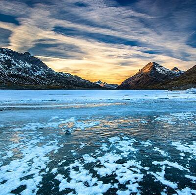 Lago Bianco, Switzerland