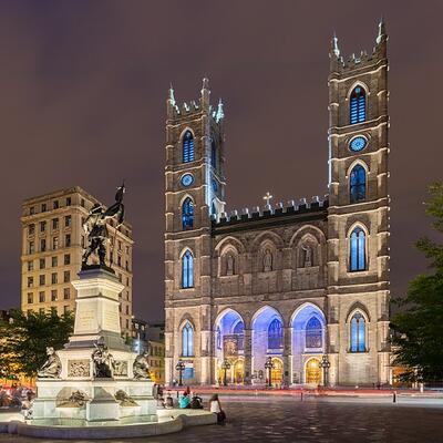 Basílica de Notre-Dame, Montreal, Canadá