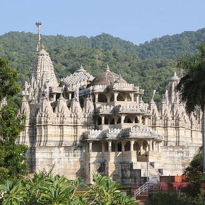 Chaumukha Jain temple, Ranakpur, Rajasthan, India