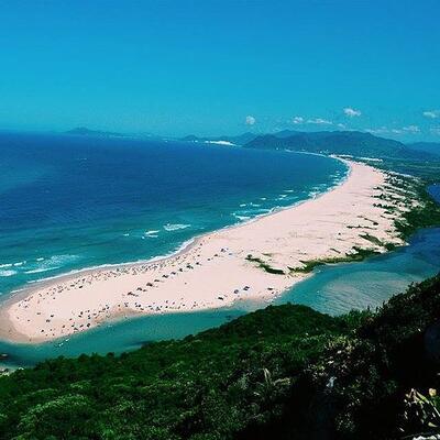 Guarda do Embau Beach (Palhoca) Brasil