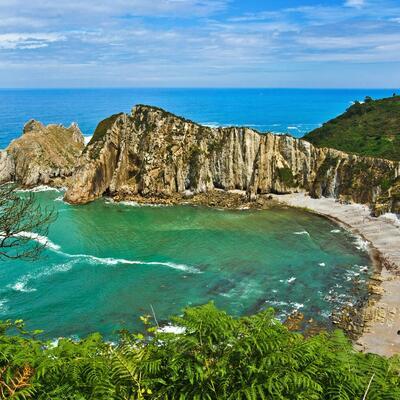 Playa del Silencio Cudillero, Spain