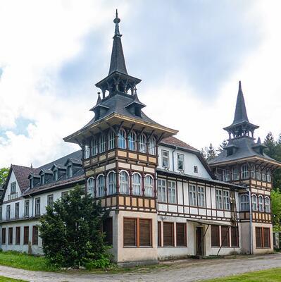 Alexisbad, Harz, Saxony-Anhalt, Germany