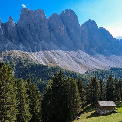The Geisler/Odle Peaks - Dolomites - Italy