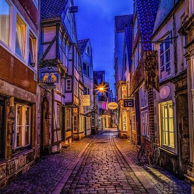 Schnoor Quarter, Bremen, Germany