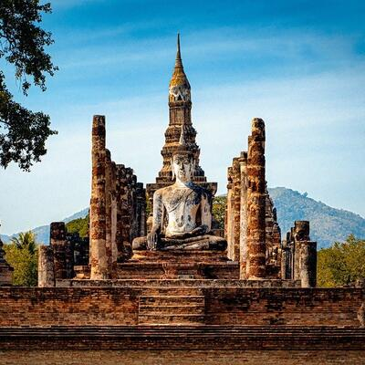 Sukhothai Historical Park - Mueang Kao - Thailand