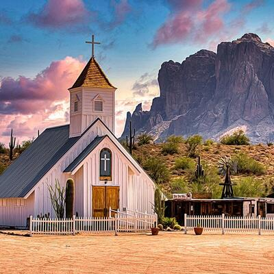 Superstition Mountain - Lost Dutchman Museum - Arizona