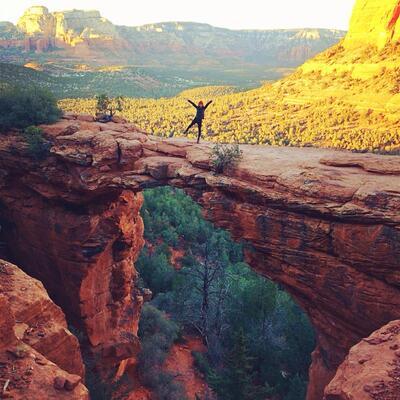 Devil's Bridge, Yavapai County, Arizona