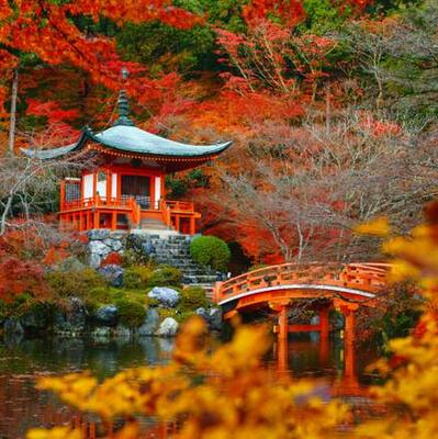 Daigo-ji temple ,Kyoto, Japan