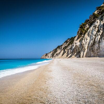 Egremni Beach (Lefkada) Greece