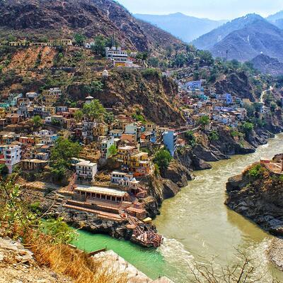 Devprayag, Uttarakhand, India