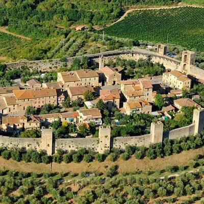 Castello Monteriggioni, Monteriggioni, Italy