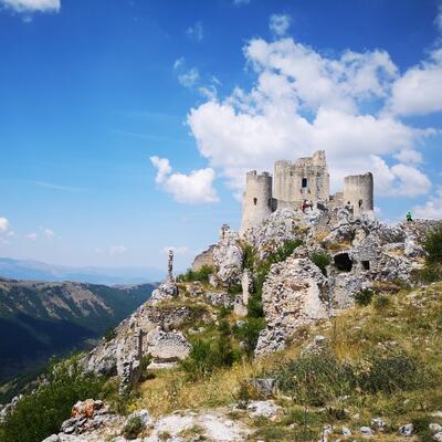 Rocca Calascio, alascio, Italy