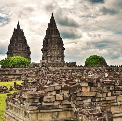 Prambanan Temple, Yogyakarta, Java