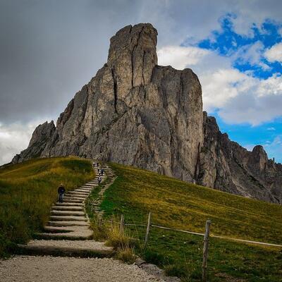 Passo Giau - Dolomite Mountains - Italy