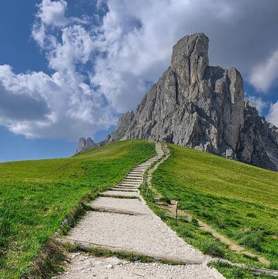 Passo Giau, Colle Santa Lucia, Italy