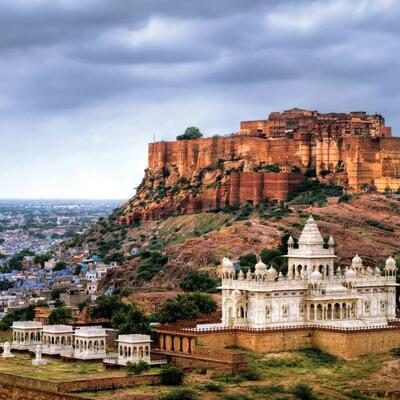 Mehrangarh Fort - Jodhpur - India