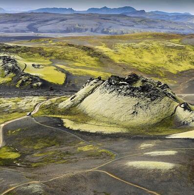 Mount Laki, Iceland