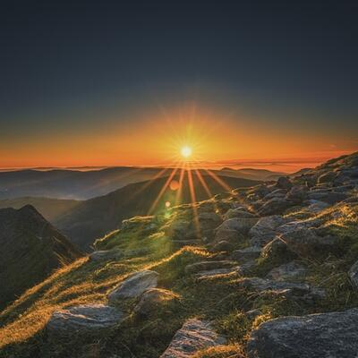 Helvellyn (Lake District) England
