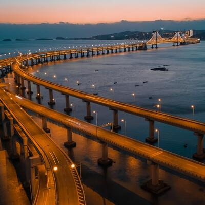 Dalian Xinghai Bay Bridge, China