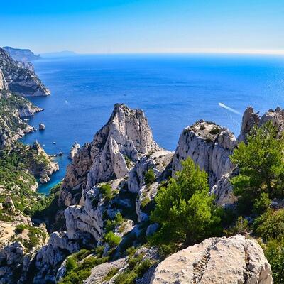 Parc National des Calanques (Marseille) France